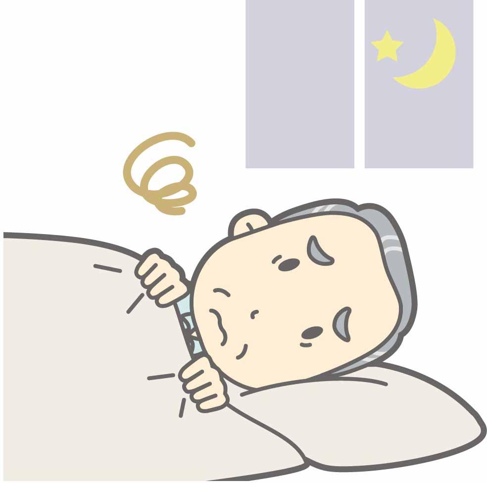 [認知症の周辺症状⑤] 認知症高齢者の不眠に対する解決策