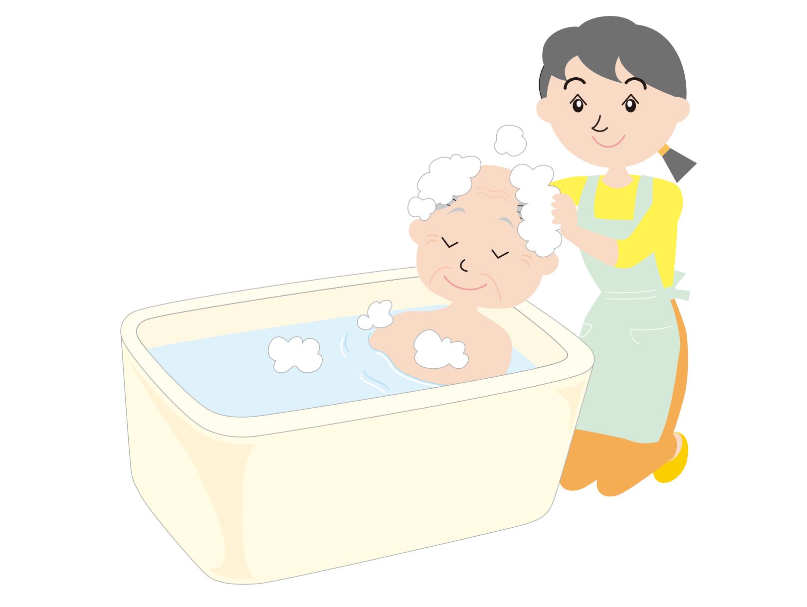 入浴が嫌いな認知症の人に入浴してもらう対応とは