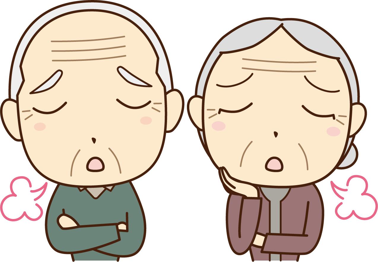 [認知症介護]老老介護の実例。妻を突き飛ばし骨折させた夫