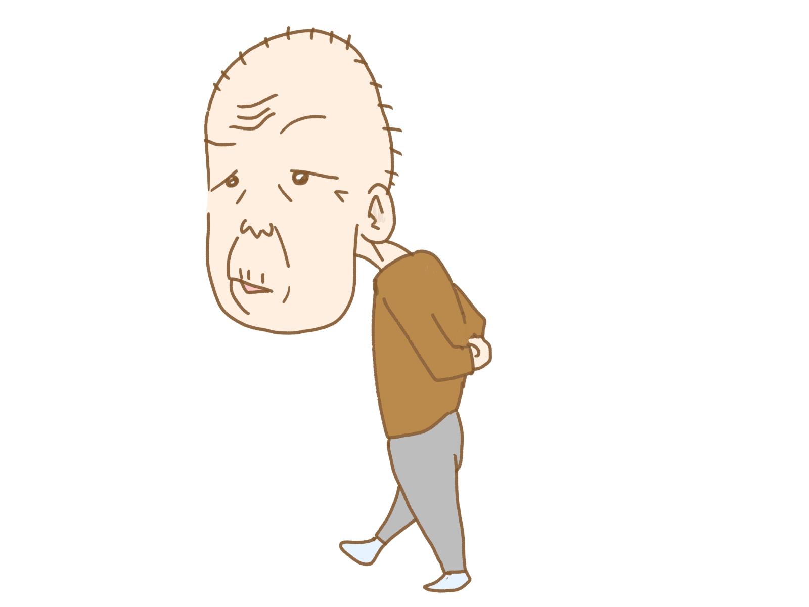 亡き妻を探すために徘徊しているアルツハイマー型認知症の男性