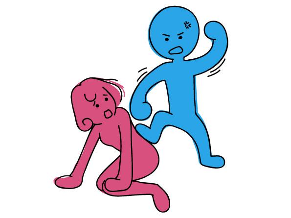 脳血管性認知症による暴力に対する対応には限界がある