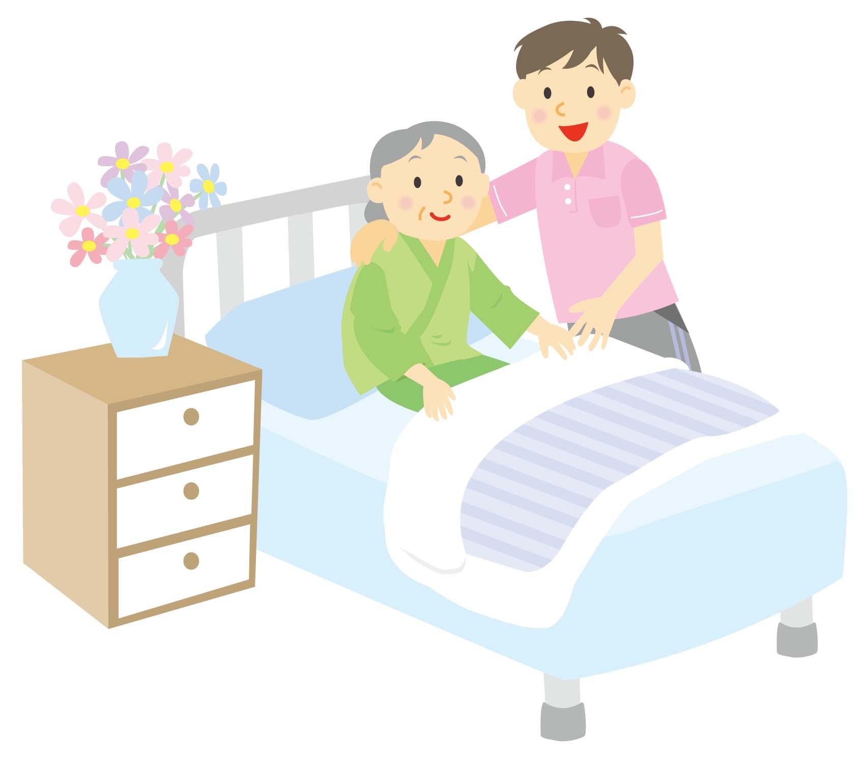 認知症高齢者に対する動作介助(ベッドから起きるなど)のポイント