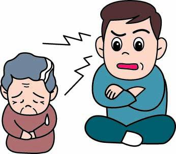 認知症の家族への虐待(食事の準備がないなど)で介入した事例