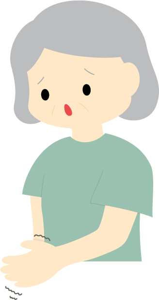 レビー小体型認知症だった母の症状は幻覚とパーキンソン症状