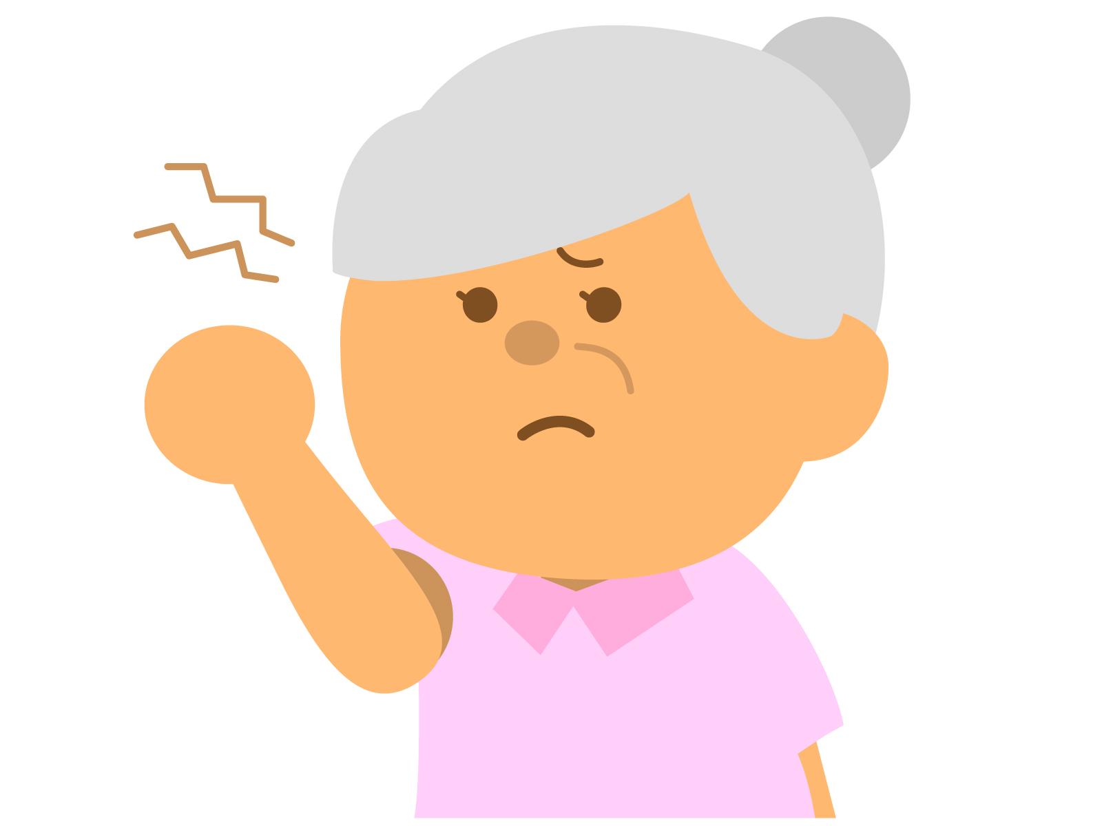 介護拒否と躁うつ病による危険行動がある認知症の人への対応
