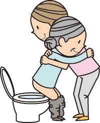 認知症高齢者の失禁・失便を見つけた時の対応。排尿や排便間隔を分析