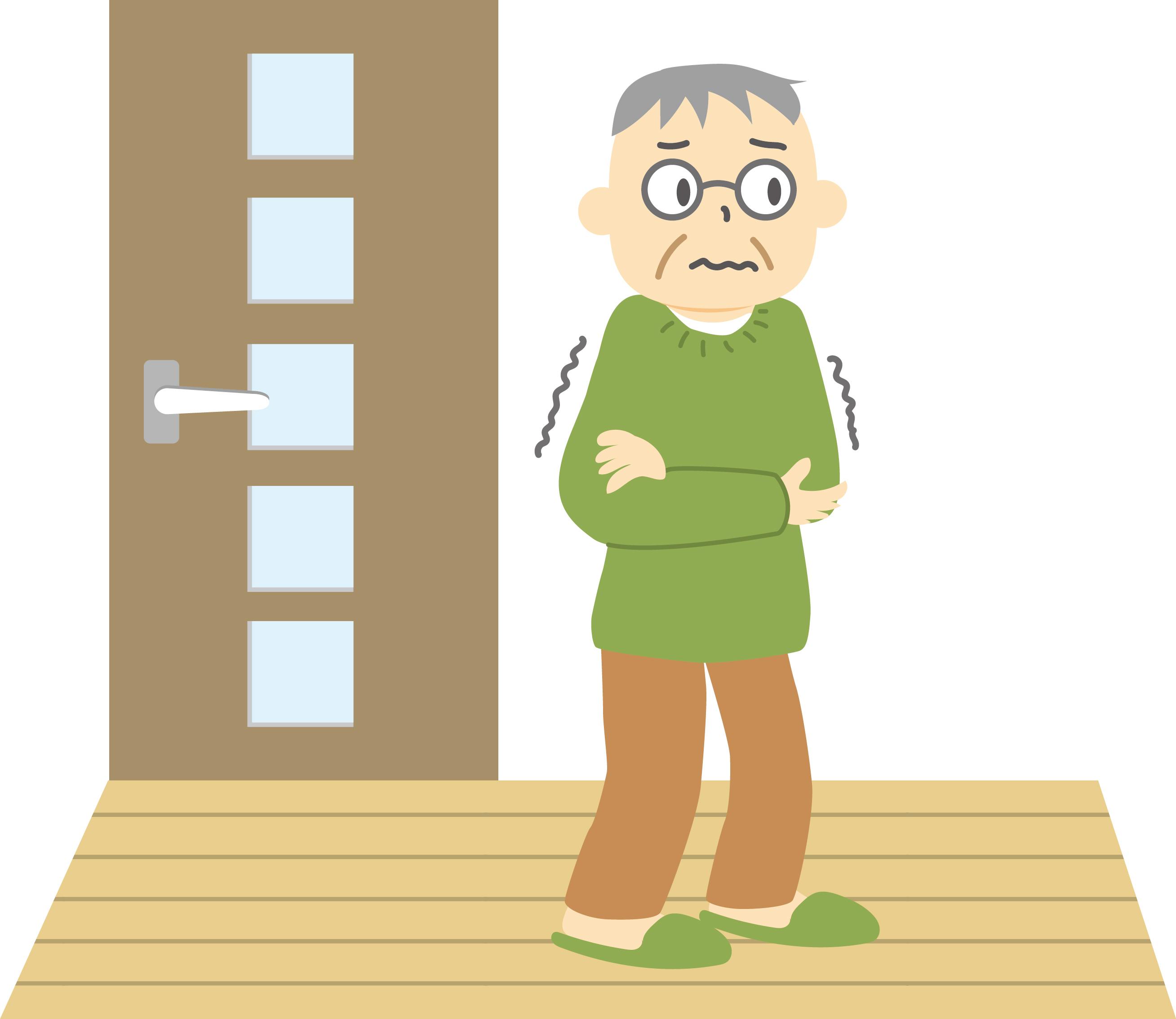 廊下で放尿する認知症女性に対する対応。介護士のアイデアにより解決