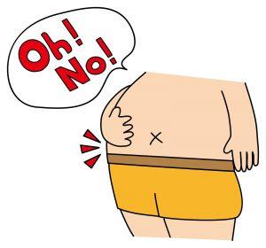 食べすぎて100キロになってしまった認知症の人の事例