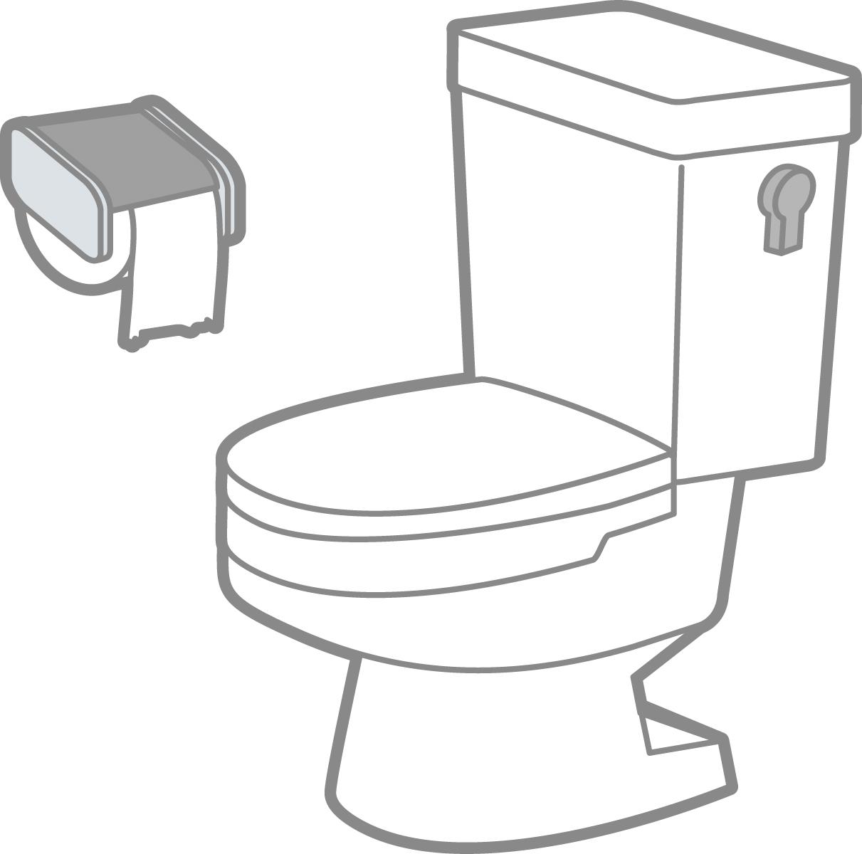 認知症の見当識障害のためトイレの場所が分からない人への対応